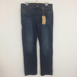 Lucky Brand Mens 30x30 410 Athletic Slim Blue Jean